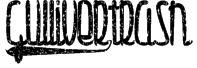 Gulliver-trash Font