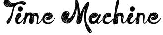 Time Machine Font