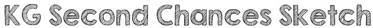 KG Second Chances Sketch Font