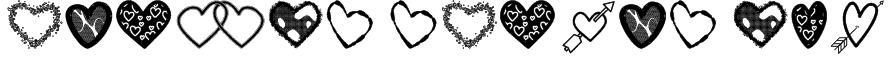 Hearts Shapes Tfb Font