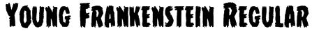 Young Frankenstein Regular Font