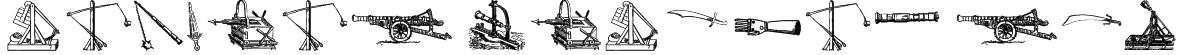 Ancient Weapons tfb Font