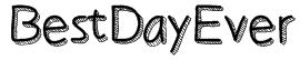 BestDayEver Font