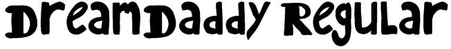 DreamDaddy Regular Font