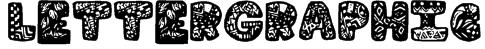 LetterGraphic Font