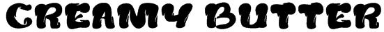 creamy butter Font