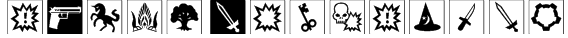 dPoly Gamedings Font