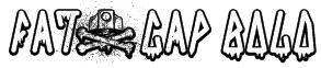 FAT&CAP Bold Font