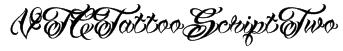 VTCTattooScriptTwo Font