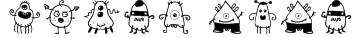alien dude Font