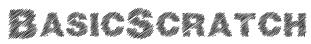 BasicScratch Font