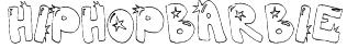 hiphopbarbie Font