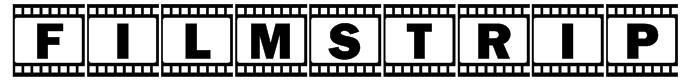 FilmStrip Font