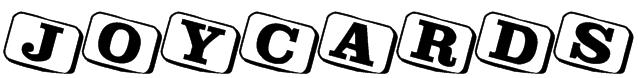 JoyCards Font