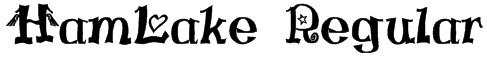 HamLake Regular Font