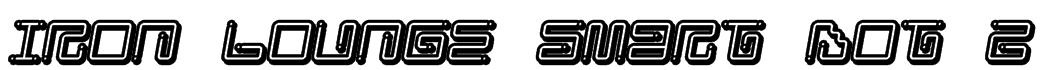 Iron Lounge Smart Dot 2 Font