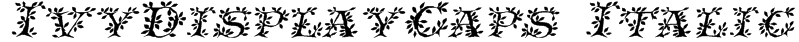 IvyDisplayCaps Italic Font