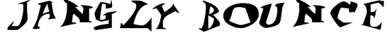 Jangly Bounce Font