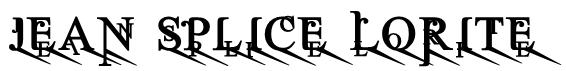 Jean Splice LoRite Font