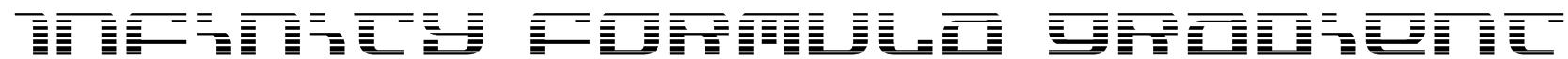 Infinity Formula Gradient Font