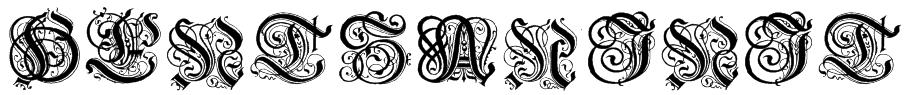 Hentzau_Initials Font