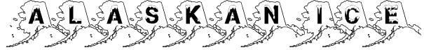 Alaskan Ice Font