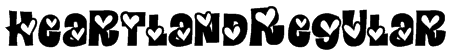 HeartlandRegular Font