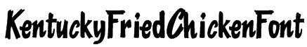KentuckyFriedChickenFont Font