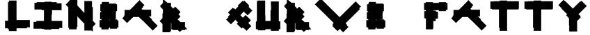 Linear Curve Fatty Font
