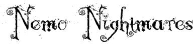 Nemo Nightmares Font