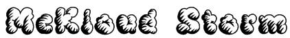 McKloud Storm Font