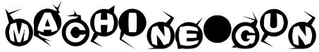 Machine-gun  Font