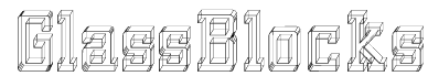 GlassBlocks Font
