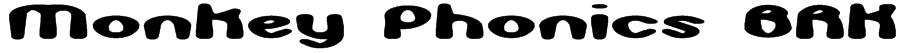 Monkey Phonics BRK Font