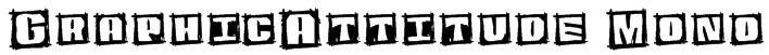 GraphicAttitude Mono Font