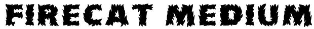 Firecat Medium Font