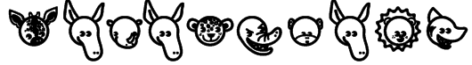 Garanimals Font