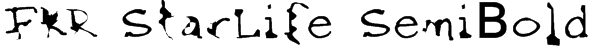 FKR StarLife SemiBold Font