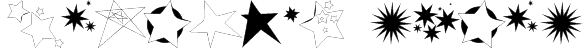 Freaking Stars Font
