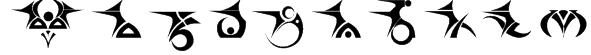 Tattooz 1 Font