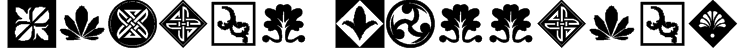 Orient Patterns Font
