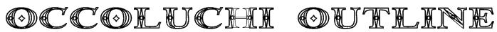 Occoluchi Outline Font