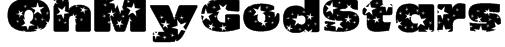 OhMyGodStars Font