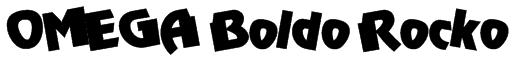 OMEGA Boldo Rocko Font