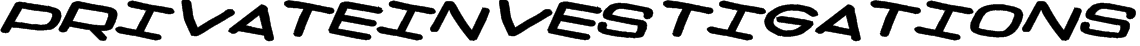 PrivateInvestigations Font