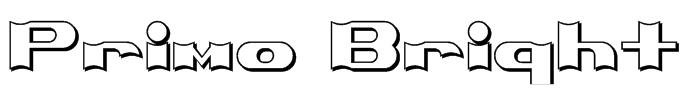 Primo Bright Font