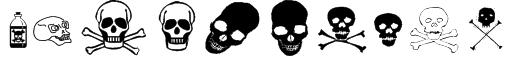 SkullZ Font