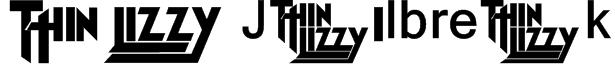 Thin Lizzy Jailbreak Font