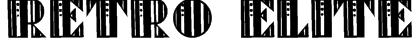 Retro Elite Font