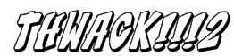 THWACK!!!2 Font